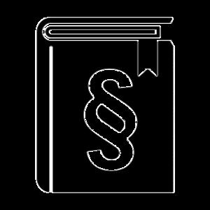 schwarzes Buch mit Paragrafenzeichen