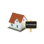 Haus mit Schild - Vermietungen