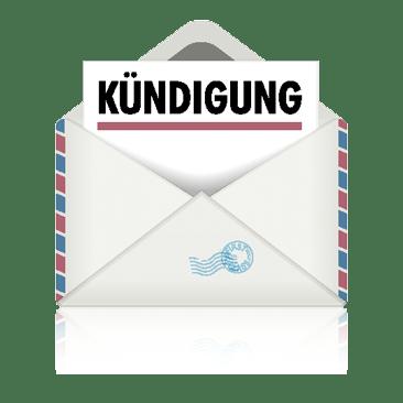 Briefumschlag Kündigung